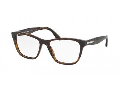 Occhiali Da Vista Montatura Prada Autentici Pr 04tv Havana 2au1o1