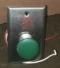 Dortronics Green Emergency Release Button 5211 Mp23da