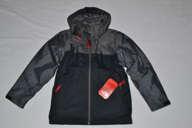 b677446b1358 The North Face CHIMBORAZO Triclimate Jacket 2 in 1 BOYS BLACK XS 6 AUTHENTIC