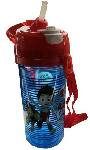 Paw Patrol Sip N Snack Botella Rojo Y Azul