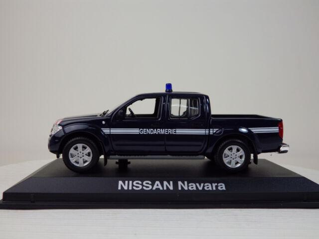 NISSAN NAVARA Gendarmerie Vehicle  Navy Blue  NOREV 1:43 NEW