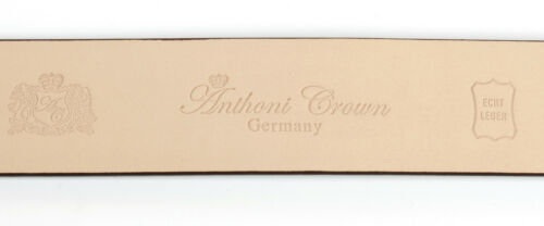 2 Anthoni Damengürtel Cm Schmal Designer 5 Schwarz Leader Crown mvPwONny80