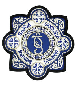 Garda-Siochana-Brode-Blazer-Badge