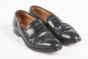 a459f04911c PAUL STUART Black Penny Loafers US 9.5D in Stuart s Choice x Grenson ...