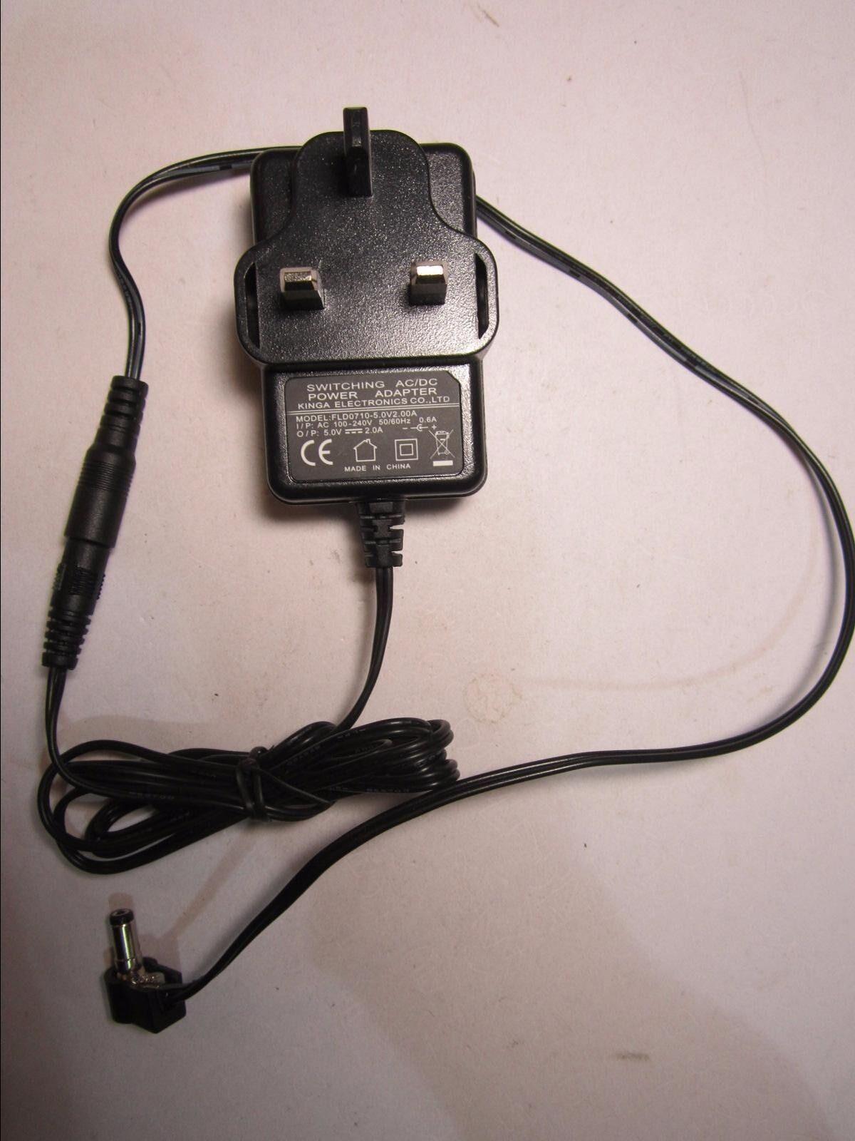 UK 5.0V 2000mA Mains AC-DC Adaptor Power Supply for ZB-01-5020EN HDMI Splitter