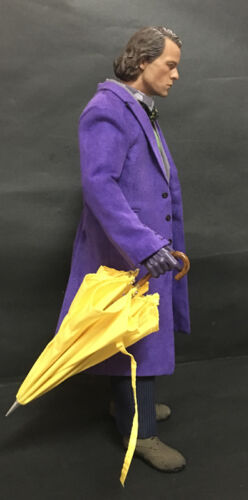 """Custom 1//6 Scale Red Umbrella For 12/"""" Action Figure Use"""