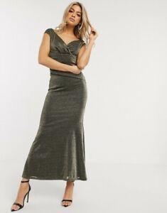 Asos City Goddess Sequin Dress Size Uk 14 Rrp 84 00 Designer Dress Ebay