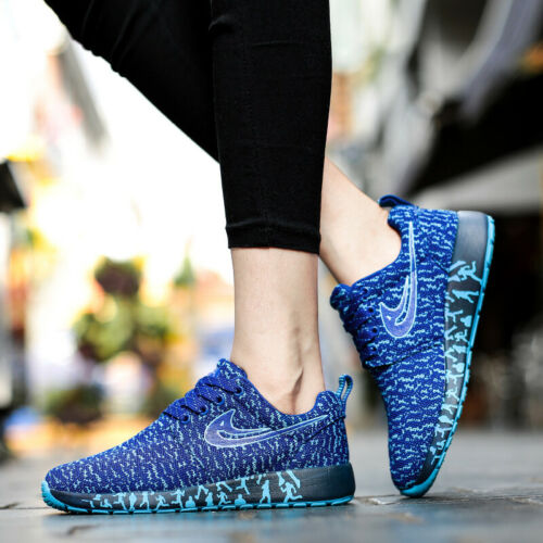 AU Women/'s Running Sports Shoes Flyknit Breathable Light Walking Casual Sneakers