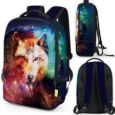 f9d313f1b4ac Hot Unisex 3D Animal Travel Satchel Backpack Rucksack Shoulder Bookbag  SchoolBag