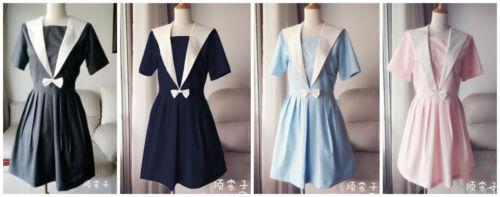 Japanese Japan School Girl Short-Sleeved Uniform Cosplay Costume New-T108