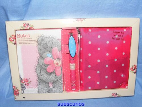 Me To You Bears Tatty Teddy Blue Nose Shopper Bag /& Pen Birthday Gift G01G0122