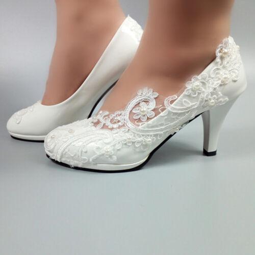 Hot  round head diamond  flower pearl women  lace  Korean wedding shoes