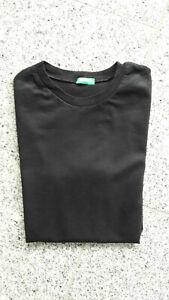United Colors of Benetton Jungen T-Shirt schwarz Kinder 2XL  ca. 146/152