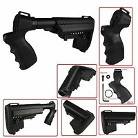 Full Set Mossberg 500 535 590 835 Maverick 88 12 & 20 Gauge Stock Kit Black