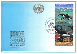 Set-of-6-Envelopes-1-st-Day-United-Nations-and-1-Card-of-Oceans-Own