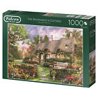 Falcon De Luxe 1000pc Jigsaw Puzzle The Whitesmith's Cottage