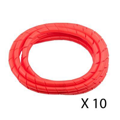 Red 10 Lot MD 8/' Premium Cord Detangler Prevents Cord Tangling