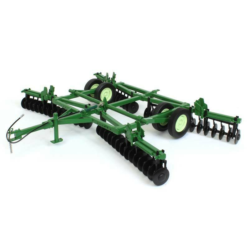 OLIVER 263 DISC HARROW WITH FOLDING WINGS 1 16 DIECAST MODEL BY SPECCAST SCT690