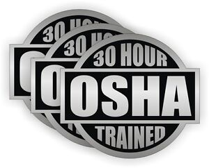 Image is loading 3-30-HR-OSHA-Trained-Hard-Hat-Stickers-