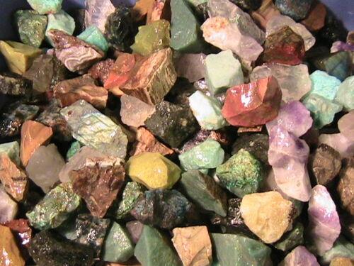 TUMBLER ROCKS SUPER MIX Stones Half Lb FREE SHIPPING Tumbling Rock Tumbler