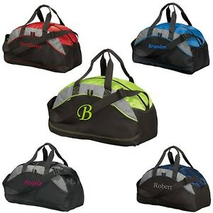 e862f06695c0 Image is loading Sm-Personalized-Duffel-Bag-Monogrammed-Groomsmen-Gift-Gym-