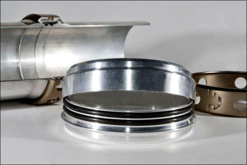 "HDi Intercooler clamp 5/"" five inch aluminum turbo quick release wiggins Vanjen"