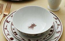 Officially Licensed Harry Potter Hogwarts Crest 4 Piece Ceramic Dinner Set