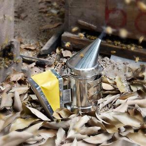 Edelstahl-Imkerei-Raucher-Bienenstock-Box-Imkerei-Werkzeug-liefert-Imkerei