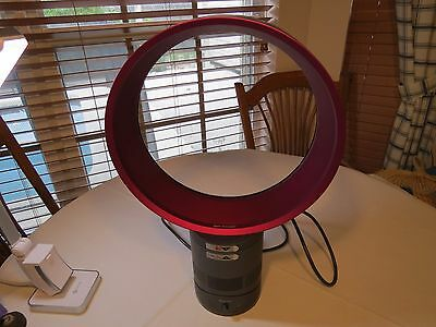 Dyson fan air multiplier bladeless AS IS NOT WORKING pink Blade LESS need REPAIR