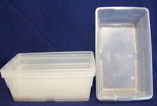Restaurant Equipment Bar Supplies 4 Used Sterilite 6qt Plastic Baskets Trays Sq