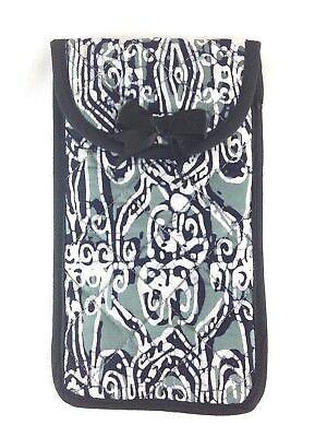 Laborioso Grigio/nero Batik Fatti A Mano Custodia Per Occhiali Astuccio Imbottito Donna Uomo Regalo (va181-5)-mostra Il Titolo Originale Supplemento L'Energia Vitale E Il Nutrimento Yin