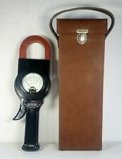 Weston Model 633 85 Type A2 Ammeter With Leather Case Unused