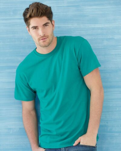 6 Blank Gildan 5000 Heavy Cotton SAFETY GREEN Adult T-Shirts Bulk Lot S M L XL