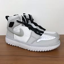 Nike Air Jordan 1 High React Black White Gym Red Ar5321 016 Us Men