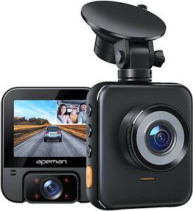 APEMAN 2K Dual Dash Cam C880