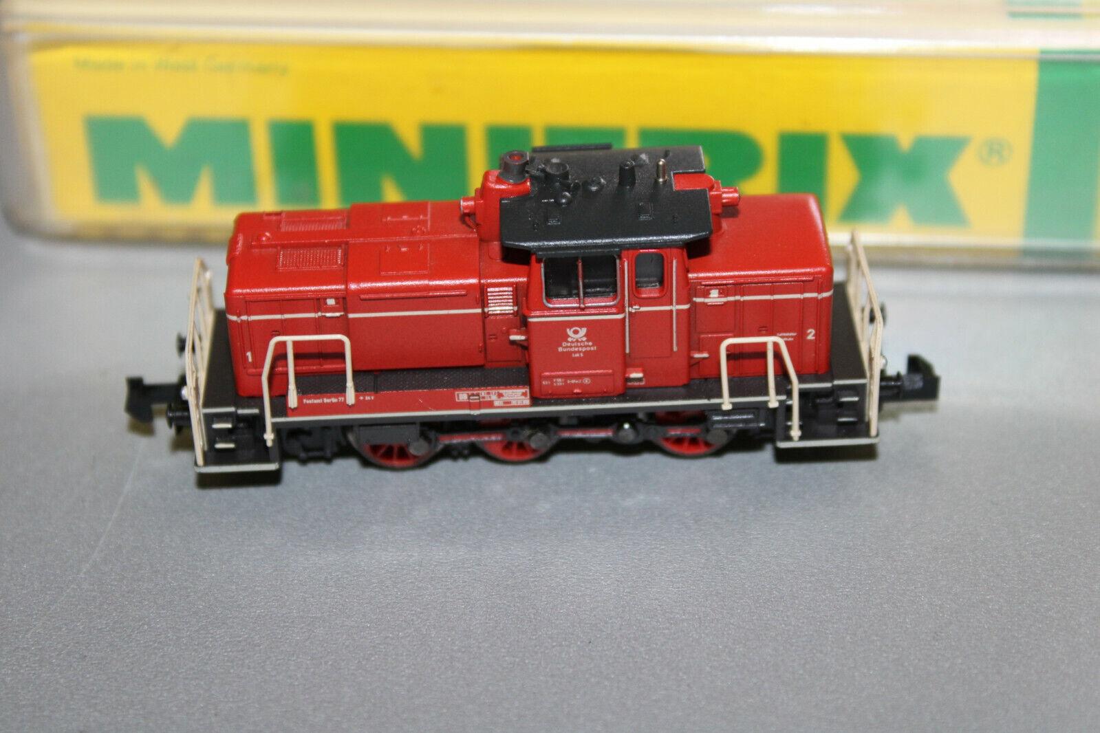 Minitrix 12842 diesellok serie 261 DBP 1 rosso pista n OVP