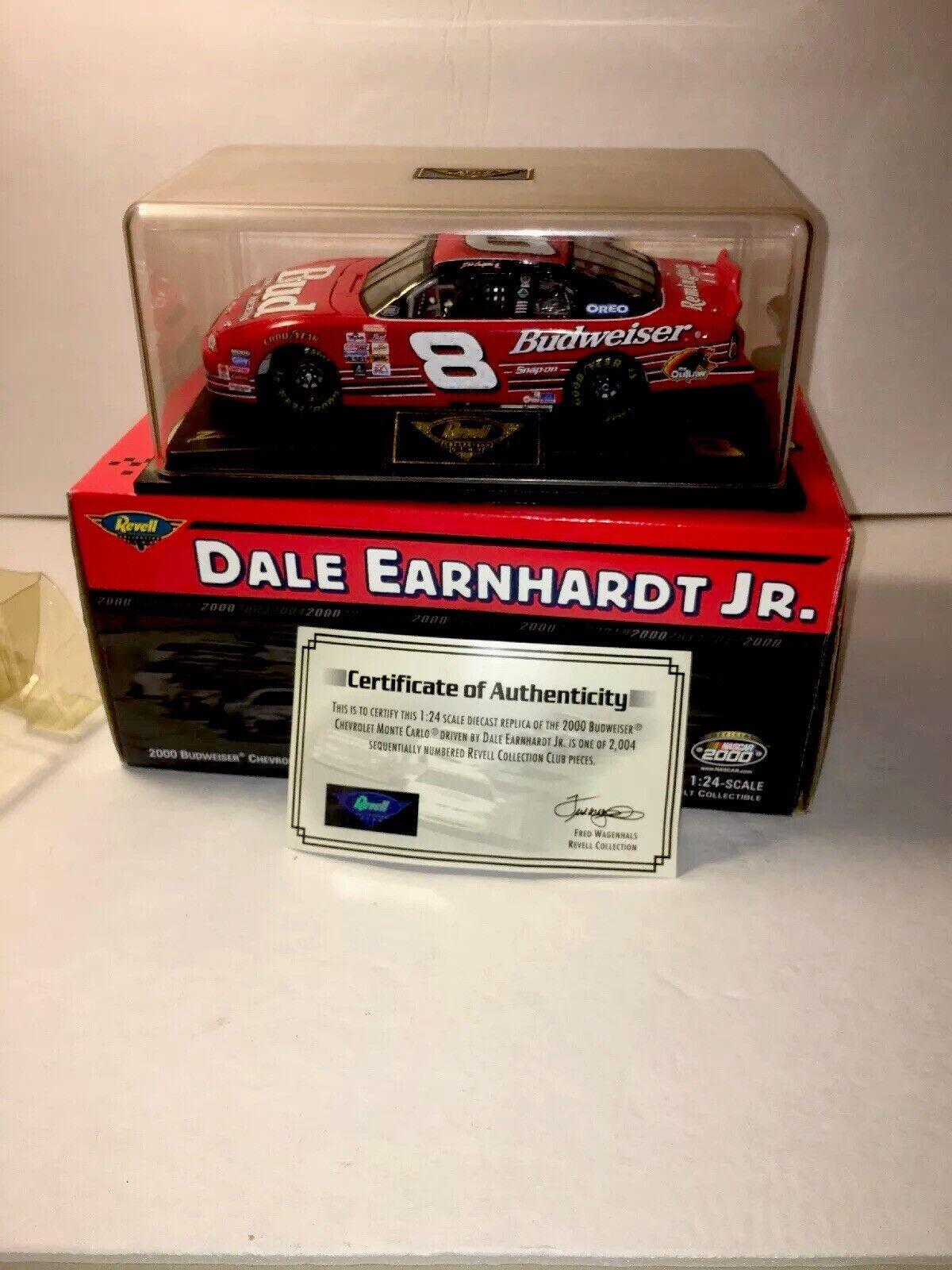 Nice  Revistas REVELL 1 24 Dale Earnhardt Jr Bud Racing 1 2, 004 Die Cast Auto NasCoche Nuevo