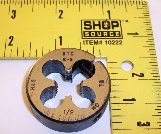 BTC USA 1/2-18NC 1-1/2 O.D. die ~ lathe mill end machinist aircraft tool