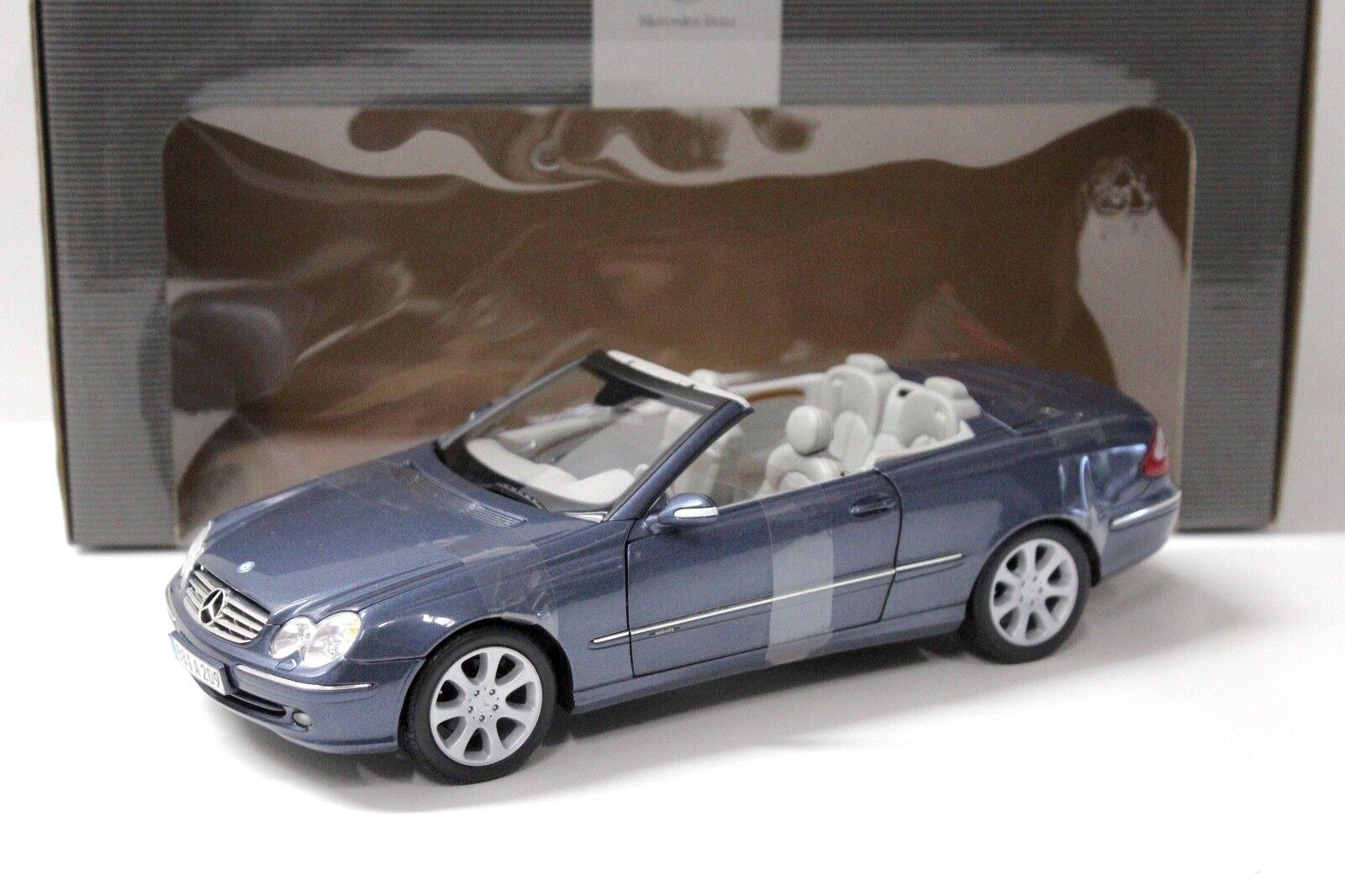 1 18 Kyosho Mercedes CLK Convertible bleu bleu bleu Dealer New chez Premium-modelcars 8e92bf