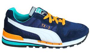 Azul Blanco 341044 Textil Puma Zapatillas Cordones Zapatos 3 Tx Cuero Con Hombre qxR0gw4q
