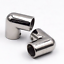 """ISURE MARINE 316 Stainless Steel St Boat Hand Rail Fitting 90 Degree 1/"""" Elbow"""