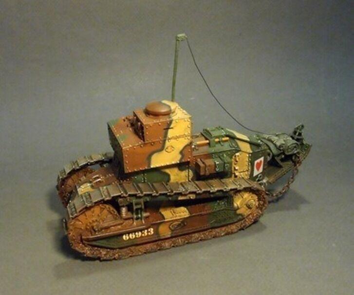 John Jenkins Designs WW1 der Große Krieg GWF-09 Französisch Renault Tsf Tank Set