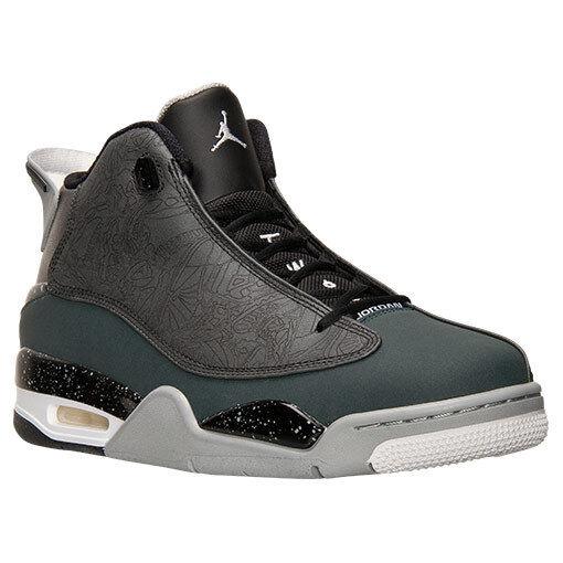 NEW Jordan Retro Dub Zero Off Court Shoes 311046004 Men's Sz11 Bk/Chac Reg160