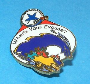 Atlanta Summer Paralympics Atlanta 1996 Paralympic Mascot Blaze Pin Sports Memorabilia