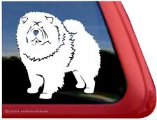 Chow Chow High Performance Vinyl Dog Window Auto Tablet Decal Sticker