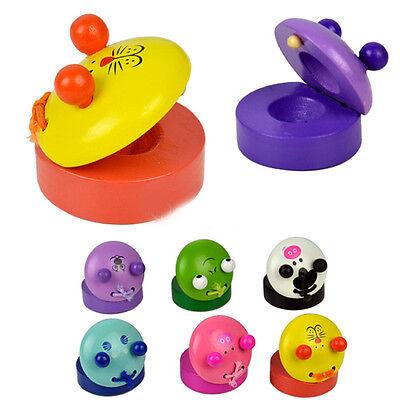 Fad kids Musical Percussion Instrument Castanet Preschool Education Toy EFT HIR