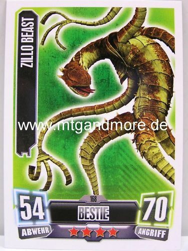 Force ATTAX série 2 zillo Beast #168