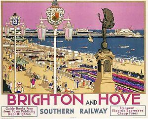 JERSEY Vintage Art Deco Railway//Travel Poster A1,A2,A3,A4 Sizes