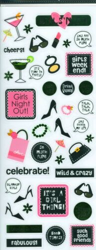 Girls Night Out Foil Stickers Me /& My Big Ideas