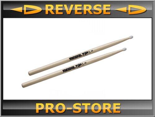 RegalTip Regal 2B Nylon Tip Drum Sticks
